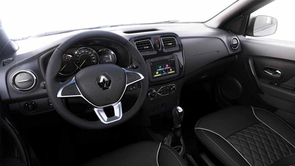 Renault LOGAN salpicadero