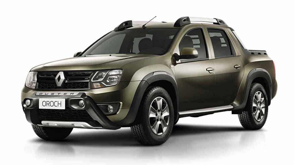 Renault DUSTER OROCH exterior