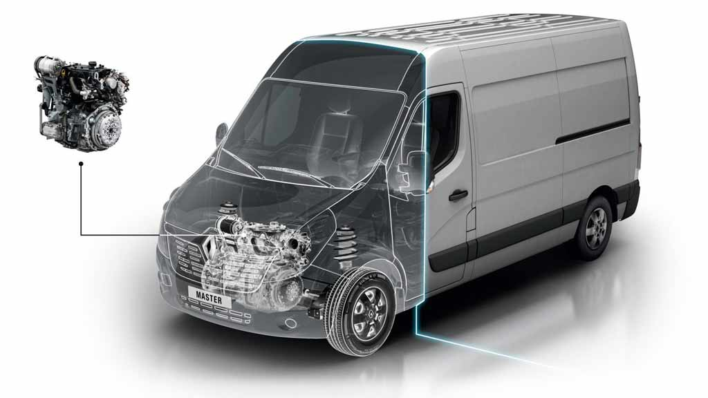 Renault MASTER FURGON motor