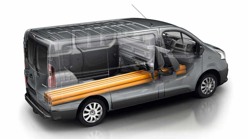 Renault TRAFIC carga